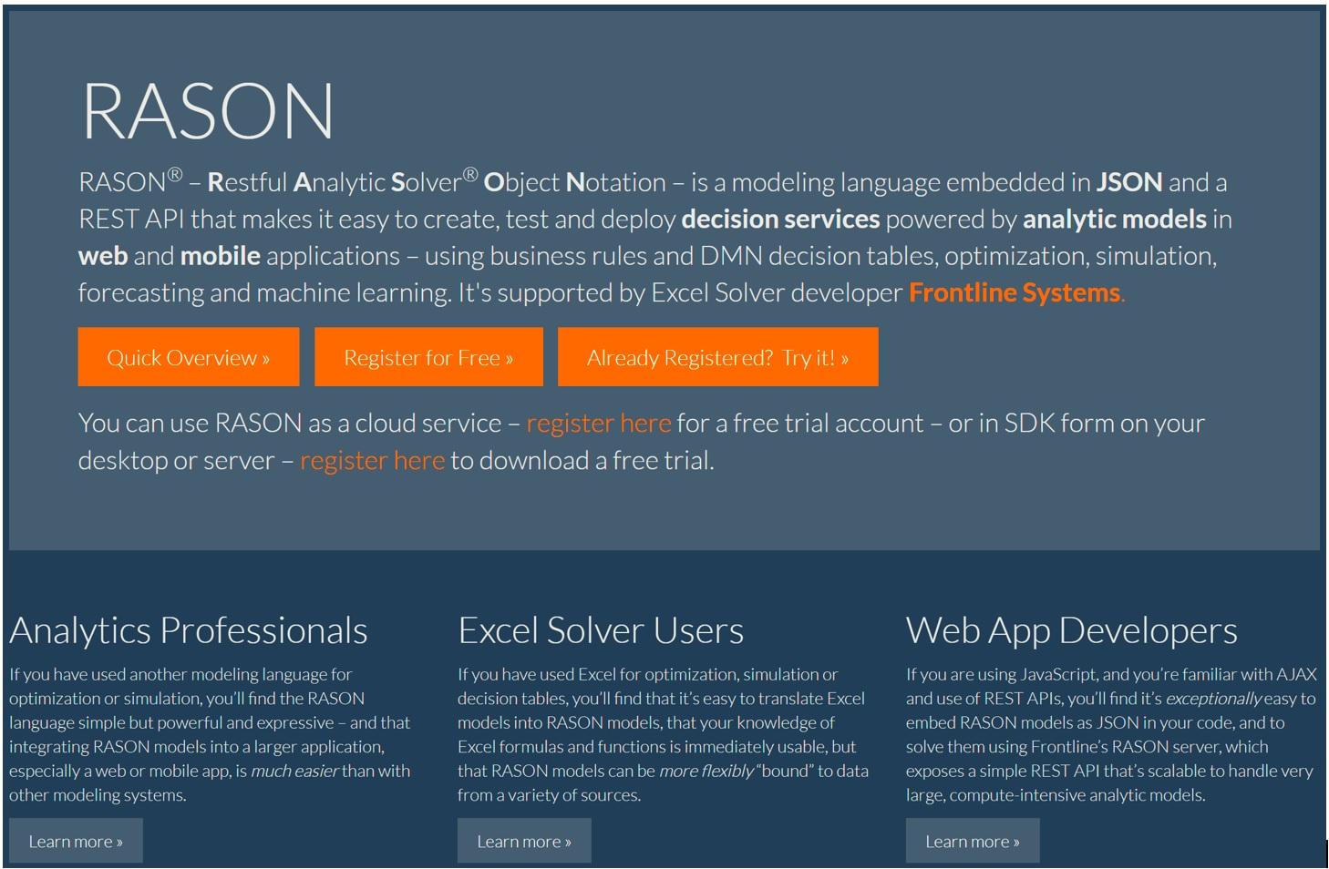 RASON Analytics API Help - RASON com